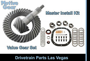 Motive Black Ford 8 8 10 Bolt 4 10 Ring And Pinion Gear Set Master Install Kit