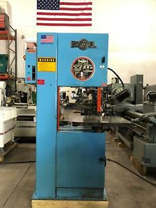 Doall 2013 20 Vertical Band Saw 1996 Usa Gmt 2155