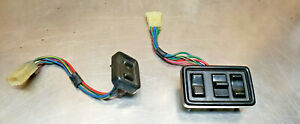 85 Oem Toyota Celica Gt Left Master Power Window Switch Lock Set Right Pair Oem2