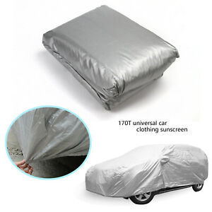 Universal Car Cover Indoor Outdoor Waterproof Breathable Layers Snow Dust Proof