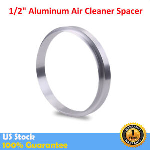 1 2 Aluminum Air Cleaner Spacer Fits Edelbrock Holley Riser Sbc Bbc 350 454 302