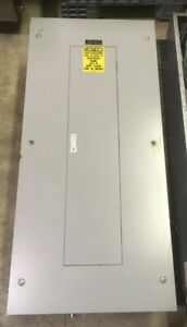General Electric Nlab Style 5 Main Breaker Panel 225amp 208y 120v 3p 4w