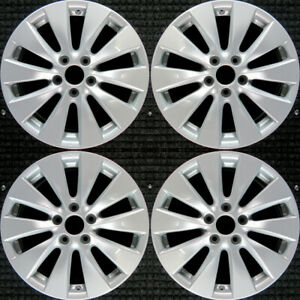 Set 2013 2014 2015 Honda Accord Oem Factory 42700t2aa92 17 Oe Wheels Rims 64047