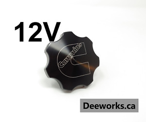 Anodized Billet Oil Cap For Dodge Cummins 5 9 6bt12v Free Usa Shipping Black