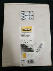 Fellowes Plastic Combs Binding Spines 50 Pack Nib os1