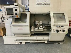 Used Milltronics Ml 1640 Tool Room Cnc Turning Center Lathe Tailstock 16x40 2006
