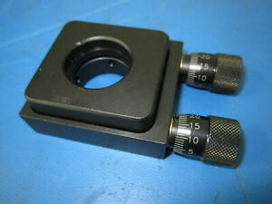 Thorlabs Optical Or Mirror Mount 3 Axis Adjustable For 25 4mm Or 1 Optic