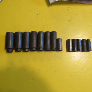 Mac Tools 3 8 Drive Deep Impact Socket Set 6 Point 8mm Thru 24mm Usa 13 Pieces