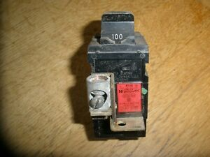 Pushmatic P2100 Ite 100 Amp 2 Pole Circuit Breaker