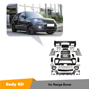 Car Full Body Kit Side Skirts Front Rear Bumper For Land Rover Range Rover 18up