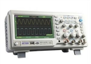 Atten Ads1102cml100mhz Digital Oscilloscope Scope 7 Lcd Dso Memory Upto 2mpt Sy