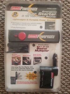 Portable Power Source Camping Hiking Outdoors Coleman Powermate Car Starter New