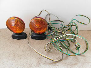 Magnetic Towing Tow Light Kit 12v Auto Lamp 567 Lights And Wiring