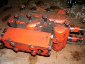 Vintage Ji Case 511 Gas Tractor remote Hitch Hyd Valves 1959