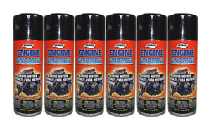 6 Cans 1 Case Engine Enamel Paint Gloss Black Aervoe 514 Mix Or Match Colors