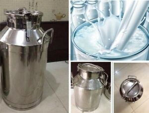 Stainless Steel 40l Milk Pail Brand New Good Quality Cw