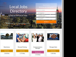 Jobs Board Directory Profitable Website Hosting Included