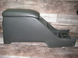Toyota 4runner Pickup Center Console With Lid Gray Nice 1990 1995 4runner Oem