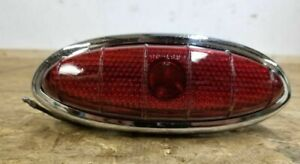 1949 1950 Ford Taillight 8a13448 C3 Glass Lens Frst 48 Stimsonite 49 50