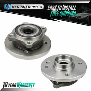 Pair Front Wheel Bearing Hub For 2007 2008 2009 10 2015 Mini Cooper 4 Cylinder