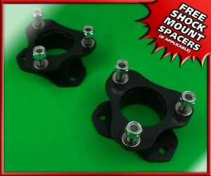 2 5 Front Steel Spacers Leveling Lift Kit For 2006 2020 Dodge Ram 1500 4x4 4wd