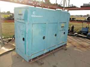 Onan Quiet Site Ii Ggkd 4482901 Natural Gas Generator W new Transfer Switch
