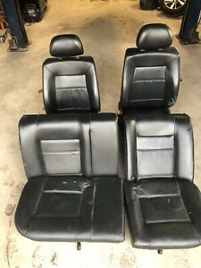 Vw Mk3 Gti Vr6 Black Leather Interior heated seats front rear panels 93 98