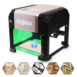 3000mw Usb Laser Engraver Desktop Diy Logo Mark Printer Carver Laser Engraving