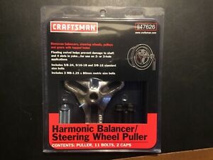 Craftsmen 947626 Harmonic Balancer steering Wheel Puller New Unopened Package