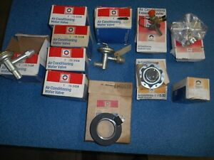 Vintage Delco Air Conditioning Parts Assortment
