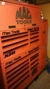 Mac Tools Big Tool Box Plus Locker Connected On Side