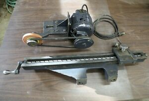 Oliver 16 Jointer 166 cd Knife Grinder Assembly