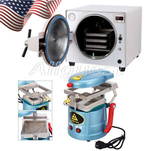 Usa Dental 18l Autoclave Steam Sterilizer Vacuum Forming Molding Machine