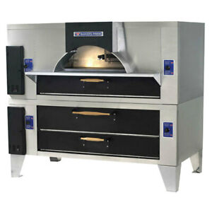 Bakers Pride Fc 816 y 800bl Gas Deck type Pizza Bake Oven