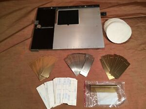 Kingsley Hot Foil Machine 8 X10 Extension Base plate 31 Cawley Plates