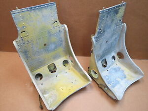 Vintage Original Wwii P 51 Fighter Aircraft Seats Great For Hot Rod Ford Rat Rod