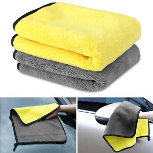 Large Microfiber Cleaning Cloth Wash Towel Drying Rag Car Polishing Detailing Us
