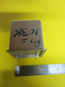 Vectron High Vacuum Oscillator 10 Mhz Frequency Standard