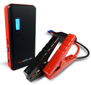 800 amp Li ion Jump Starter With Usb Ports And Lcd Display Car Mobile New