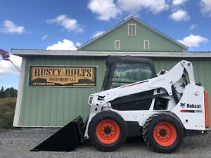 2015 Bobcat S530 Skid Steer Loader Enclosed Cab Heat Only 588 Hours Cheap Ship