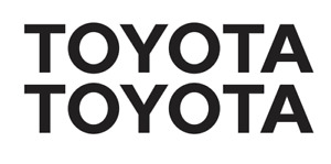 Toyota Decal Vinyl Sticker Buy 1 Get 2 Free Shipping