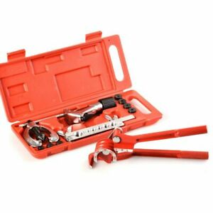 Brake Pipe Flaring Tool Kit Line Plumbing With Aluminum 3 In 1 180 Degree T D3h6