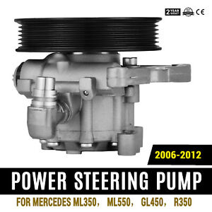 Power Steering Pump for Mercedes benz Ml350 Ml550 Gl450 R350 Front Pro Hot