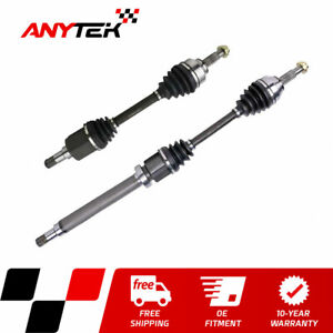 Pair Front Cv Axle Shaft Assembly For 2005 2007 2008 2009 2010 2011 Ford Focus