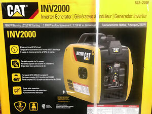 Cat Inv2000 1800 Watts Portable Gas Powered Generator Inverter