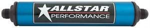Allstar Performance 40216 Fuel Filter 10 Micron Aluminum 8 An Male Inlet Outlet