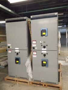 Square D Masterclad 15kv Switchgear Lineup