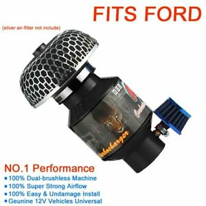 For Ford Focus Supercharger Turbo Charger Kit Small Electric Universal 12v Fans