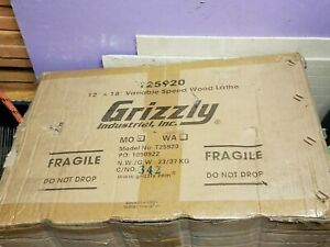 Grizzly T25920 Benchtop Wood Lathe New In Box
