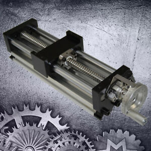 Manual Sliding Table Sfu1605 Ball Screw Linear Stage Actuator Cnc Slide
